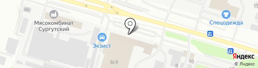 PRO-Индустрия на карте Сургута