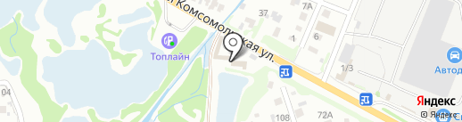МЕДВЕДИ на карте Омска