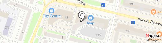 Идея на карте Сургута