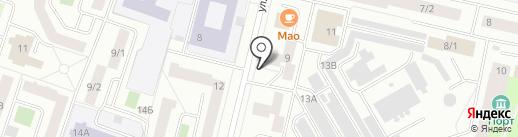 Росинка на карте Сургута
