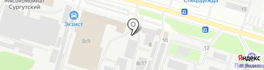 WINDIGO-WAGNER на карте Сургута