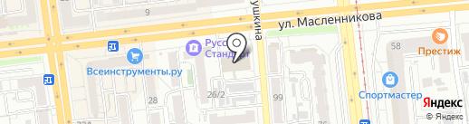 Центр итальянской фурнитуры на карте Омска