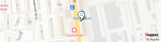 Sune rise на карте Омска