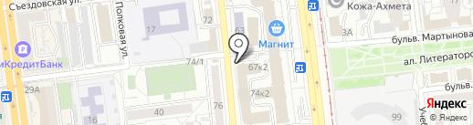 МИРОН на карте Омска