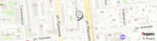 Банк Финам на карте Омска