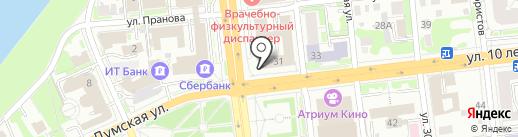 Другая жизнь на карте Омска