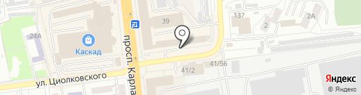 AliveMax на карте Омска
