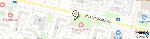 Маргаритка на карте Сургута
