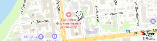 GRANAT на карте Омска