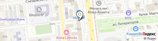 ПРОСТО на карте Омска