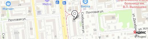 SPparts на карте Омска