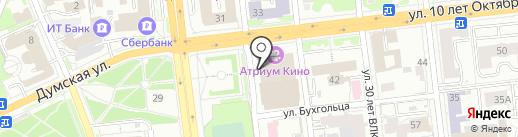 КЕБАБ стейк-хауз на карте Омска