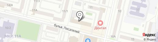 ДИАНТР на карте Сургута