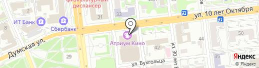 Блины на карте Омска