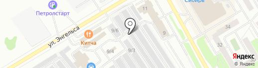 Автомастерская на карте Сургута