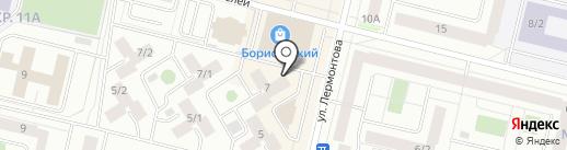 Наш город, МКУ на карте Сургута