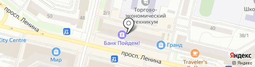 Ассоль на карте Сургута