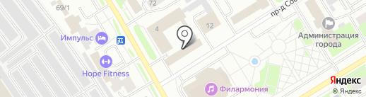 Главный центр специальной связи, ФГУП на карте Сургута