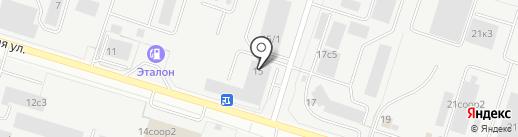 Градиент Дистрибьюция на карте Сургута