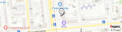 RS express на карте Омска