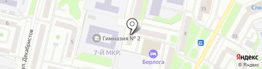 Майское, ТСЖ на карте Сургута