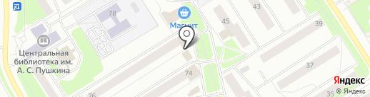 Родник на карте Сургута