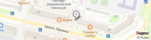 ДНС на карте Сургута