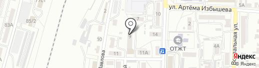 КОМПСЕТИ на карте Омска