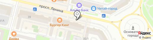 Джинс Маркет на карте Сургута