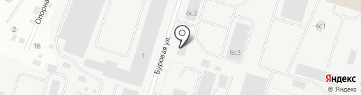 Сервисная компания на карте Сургута
