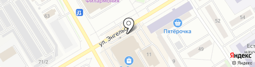 Табачно-чайная лавка на карте Сургута