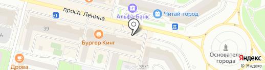 Быстросервис на карте Сургута