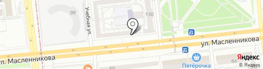 ТеплЭко на карте Омска