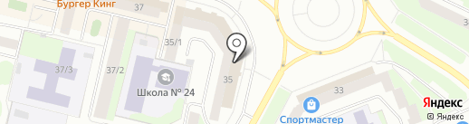 Маклер на карте Сургута