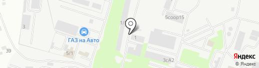 ЭМОСТ на карте Сургута