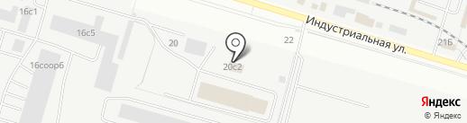 Дизель86 на карте Сургута