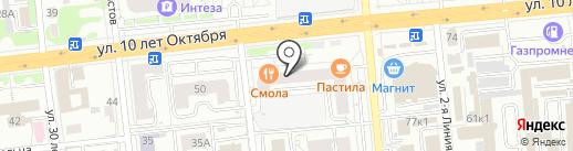 Best Studio на карте Омска