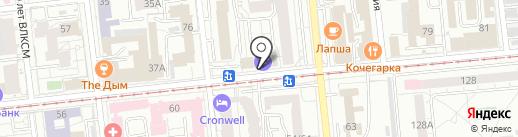 Компания ТТП на карте Омска