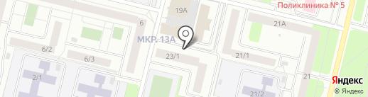 Безопасная Эксплуатация Промышленных Объектов, АНО ДПО на карте Сургута