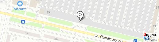 АвтоЛига на карте Сургута