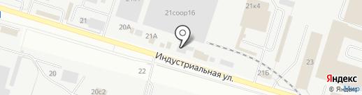 СТА-ВВР на карте Сургута