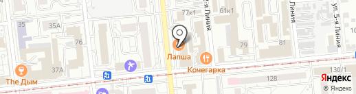 YourШ на карте Омска