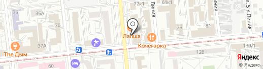 Веранда на карте Омска