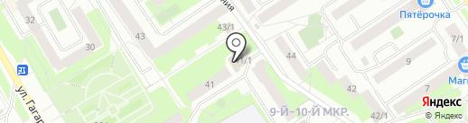 Ателье на карте Сургута