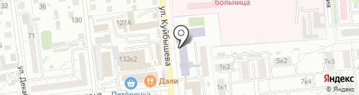 Фортуна на карте Омска