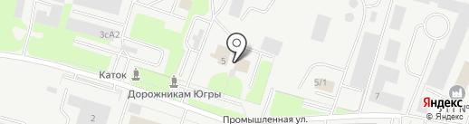 Северавтодор на карте Сургута