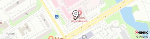 Магазин хозтоваров на карте Сургута