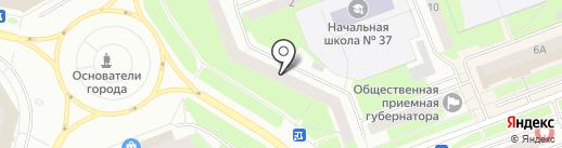 Меховое ателье на карте Сургута