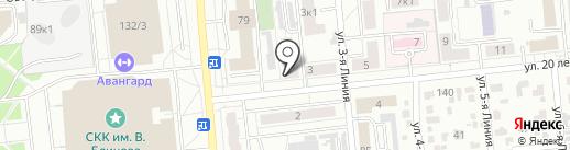 Мини-пекарня на карте Омска