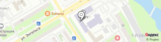 Центр Информационных Технологий на карте Сургута